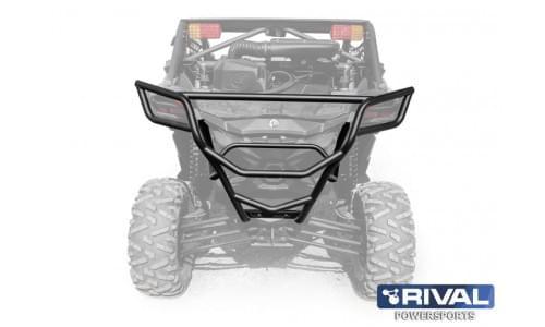 Бампер задний с креплением запасного колеса для Maverick X3