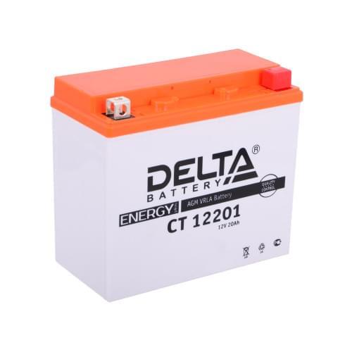 Аккумулятор для квадроцикла Delta CT 12201