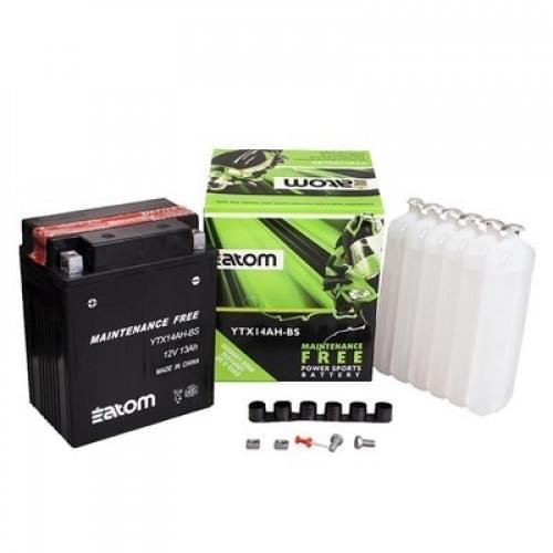 Аккумулятор ATOM YTX14AH-BS MF 4011138 / YTX-14AHB-S0-00 / K26012-3704 / 0745-045