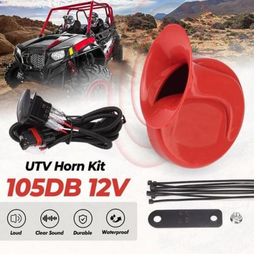 Комплект звукового сигнала с проводкой для UTV /SSV /SxS Kemimoto